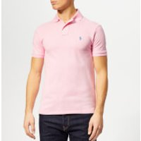 Polo Ralph Lauren Men's Basic Pique Slim Fit Polo-Shirt - Taylor Rose - S - Pink