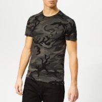Polo Ralph Lauren Men's Cotton-Jersey T-Shirt - Charcoal Rl Camo - L