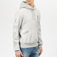 Polo Ralph Lauren Men's Skull Bear Graffiti Hoody - Andover Heather - XL