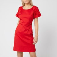Armani Exchange Women's Cotton Red Dress - Red - US 8/UK 12 - Red