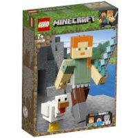 LEGO Minecraft: Minecraft Alex Bigfig with Chicken (21149) - Chicken Gifts