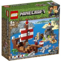 LEGO Minecraft: The Pirate Ship Adventure 21152 - Lego Gifts