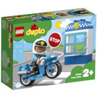 LEGO DUPLO Town: Police Bike and Policeman Building Set (10900)