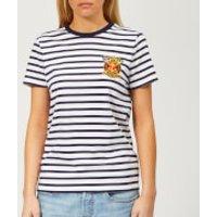 Polo-Ralph-Lauren-Womens-Cross-Flag-Stripe-TShirt-Multi-L-Multi