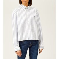 Polo-Ralph-Lauren-Womens-Cropped-Oversized-Cotton-Oxford-Shirt-WhiteBlue-M-WhiteBlue