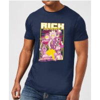 Rick and Morty 80s Poster Men's T-Shirt - Navy - S - Navy