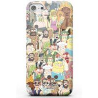 Rick and Morty Interdimentional TV Characters Phone Case for iPhone and Android - Samsung Note 8 - Tough Case - Gloss - Tv Gifts