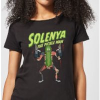 Rick and Morty Solenya Women's T-Shirt - Black - XXL - Black