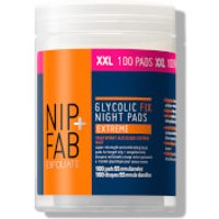 NIP+FAB Glycolic Fix Night Extreme Supersize Pads (Worth PS24.92)