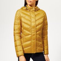 Barbour Womens Seaward Quilted Coat - Canary Yellow - UK 14 - Yellow