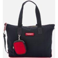 Tommy Hilfiger Women's Varsity Nylon Tote Bag - Corporate