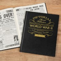 WW2 75th Anniversary Pictorial Edition Newspaper Book - Books Gifts