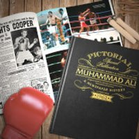 Muhammad Ali Pictorial Edition Newspaper Book - Books Gifts