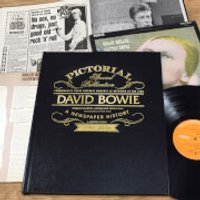 David Bowie Pictorial Edition Newspaper Book - Books Gifts