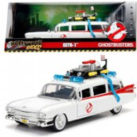 Image of Ghostbusters Hollywood Rides ECTO-1 1:24 Scale Die-Cast Metal Vehicle