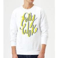 Rock On Ruby Fully Woke Sweatshirt - White - S - White
