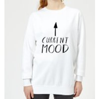 Rock On Ruby Current Mood Women's Sweatshirt - White - 4XL - White