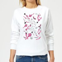 Rock On Ruby Makeup Is My Life Women's Sweatshirt - White - S - White - Makeup Gifts