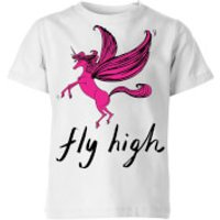 Rock On Ruby Fly High Kids' T-Shirt - White - 9-10 Years - White