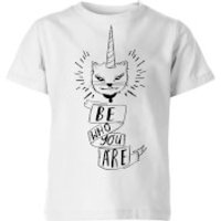 Rock On Ruby Be Who You Are Kids' T-Shirt - White - 3-4 Years - White