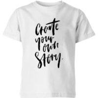 PlanetA444 Create Your Own Story Kids' T-Shirt - White - 11-12 Years - White