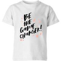Image of PlanetA444 Be The Game Changer Kids' T-Shirt - White - 3-4 Years - White
