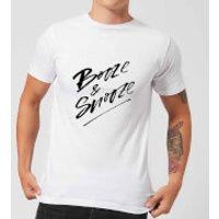 PlanetA444 Booze & Snooze Men's T-Shirt - White - M - White