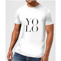 PlanetA444 YOLO Men's T-Shirt - White - XL - White