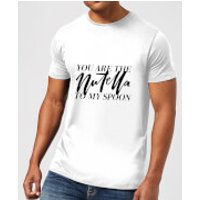 You Are The Nutella To My Spoon Men's T-Shirt - White - XXL - White - Nutella Gifts