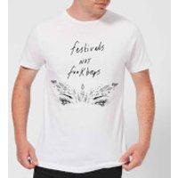 Rock On Ruby Festivals Not F**k Boys Men's T-Shirt - White - S - White