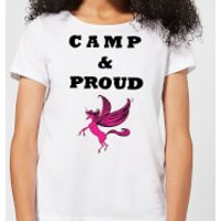 Camp & Proud Women's T-Shirt - White - XL - White