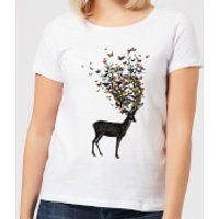 Wild Nature Women's T-Shirt - White - L - White