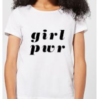 Girl Pwr Women's T-Shirt - White - 5XL - White
