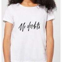 No Doubts Women's T-Shirt - White - XXL - White