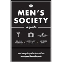 Men's Society: A Guide (Hardback) - Books Gifts