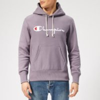 Champion Men's Script Overhead Hoodie - Purple - XS - Purple