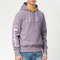Champion Men's Half Zip Over Head Hoodie - Purple - XL - Purple