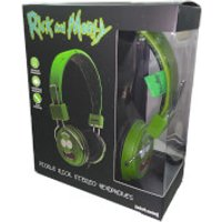 Rick and Morty Pickle Rick Wired Headphones (With Mic) - Headphones Gifts