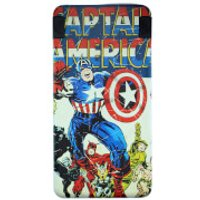Marvel Captain America 6000mAh Power Bank - Accessories Gifts