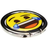 Emoji Cry Laughing Mobile Spin Grip - Laughing Gifts