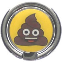 Emoji Poo Mobile Spin Grip - Accessories Gifts