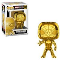 Marvel MS 10 Iron Spider Gold Chrome Pop! Vinyl Figure - Spider Gifts
