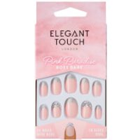 Elegant Touch Pink Paradise Nails - Boss Babe