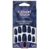 Elegant Touch Queen of the Night Nails - Midnight Creepin'