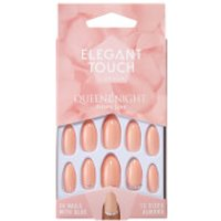 Elegant Touch Queen Of The Night Nails - Phone Line