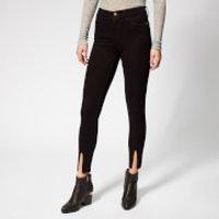 Frame Women's Le High Skinny Front Split Jeans - Film Noir - W30 - Black