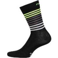 Nalini Logo Socks - L/XL - Black/Yellow