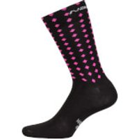 Nalini Coolmax Socks - S/M - Black/Pink
