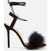 Charlotte Olympia Women's Salsa Feather Sandals - Black - EU 38/UK 5 - Black