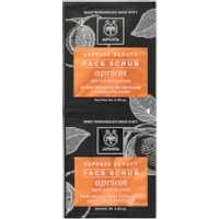 APIVITA Express Face Scrub for Gentle Exfoliation - Apricot 2x8ml